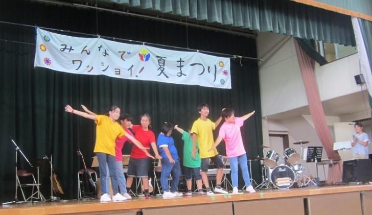 夏祭りダンス部出演